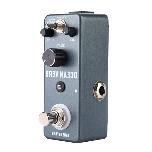 Guitar Vibe Effect Pedal, Guitar Pedal Portable Vibe Effect Pedal Aluminum Alloy for Most Guitar