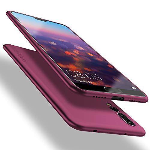 X-level Cover Huawei P20 PRO, [Guardian Series] Ultra Sottile e Morbido TPU Protettiva Custodia Silicone Rubber Protezione Cover per Huawei P20 PRO, Vino Rosso