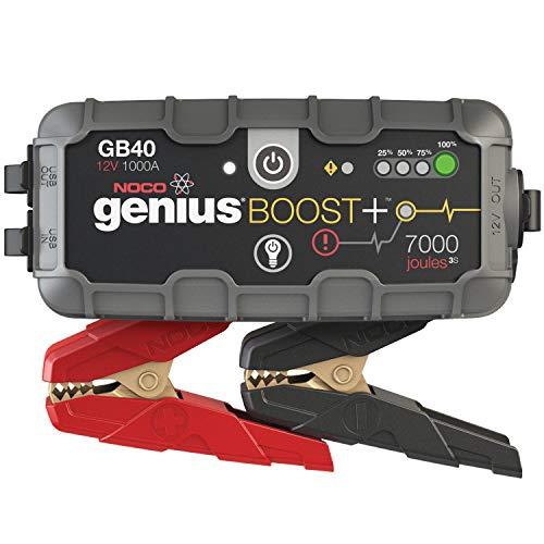 NOCO Boost Plus GB40 1000A 12V UltraSafe Booster Batterie Jump Starter pour Moteurs à Essence Jusqu'à 6L et Moteurs Diesel Jusqu'à 3L