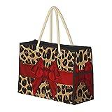 Borsa grande Borsa da spiaggia alla moda Jaguar Stampa spalla per le donne - Borsa borsa con maniglie