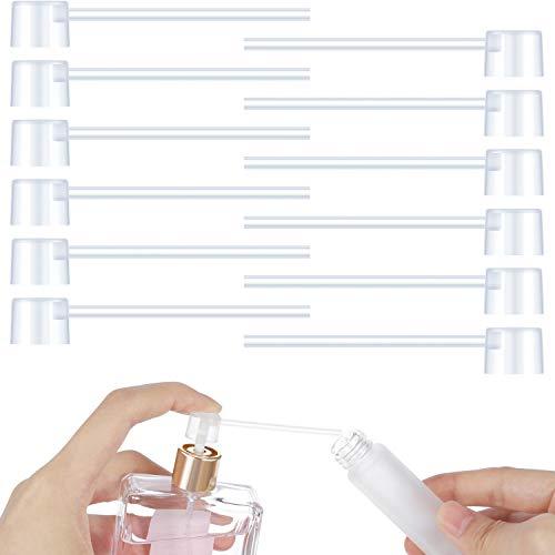 12 Paquete de Bomba Dispensador de Perfume Bomba de recarga de Perfume Dispensador de Cosméticos Herramienta de Transferencia de Bomba para Viaje Botella de Rociador de Perfume Recargable Perfume