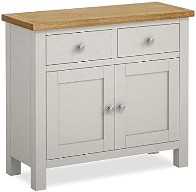 Small Painted Sideboard Roseland Furniture Ltd Padstow White 2-Door Sideboard