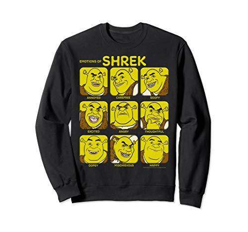 Shrek Emotions Of Shrek Box Up Sweatshirt