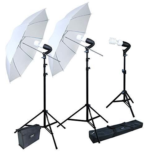 LINCO Lincostore 600W Photography Photo Video Portrait Studio Day Light Umbrella Continuous Lighting Kit AM153