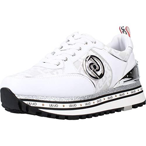 LIU JO Maxi Wonder 19 Sneaker Running Logo White BA1061PX136