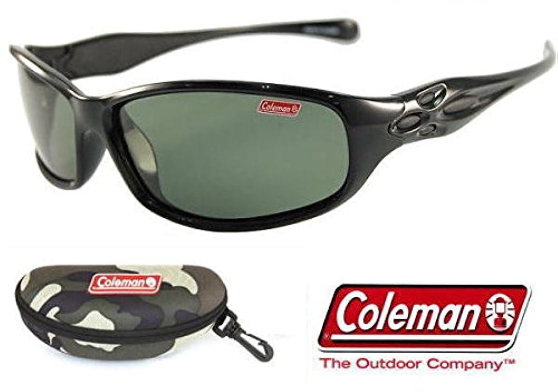 和らげる雄大なブロックするColeman コールマン 偏光サングラス Co3033-3(コールマン専用ハードケース+ステッカー付)