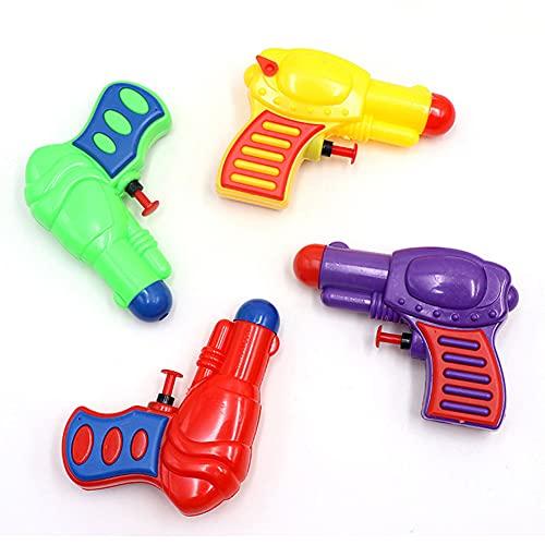 Pistolet na wodę, zabawkowy pistolet natryskowy, zestaw 16 sztuk, mały pistolet na wodę, zasięg dla dzieci, dziewczynek, chłopców, na letnie imprezy na świeżym powietrzu, na plażę, na basen, do ogrodu, zabawka plażowa, urodziny dziecka