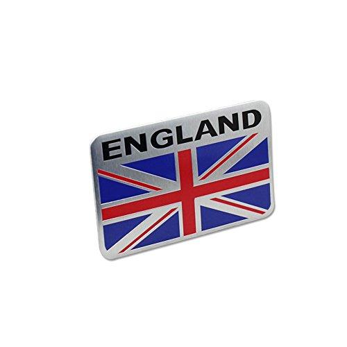 Generic Auto Car Van Racing Sports Sport Sytle ENGLAND Britain Flag Oblong Emblem Badge Decal Sticker