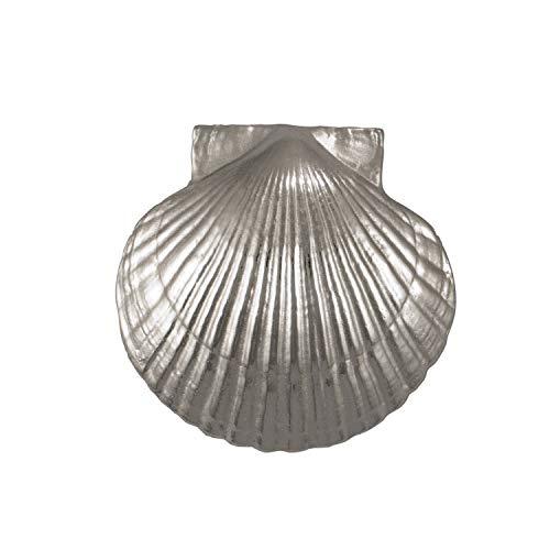 Scallop Door Knocker - Nickel (Premium Size)
