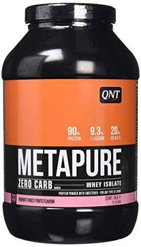 QNT Metapure Zero Carb Whey Isolate Protein Mix, 1 kg, Yoghurt Forest Fruit