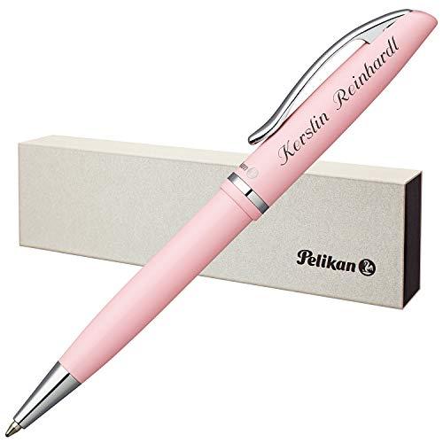 Pelikan Kugelschreiber JAZZ PASTELL Rose mit persönlicher Laser-Gravur