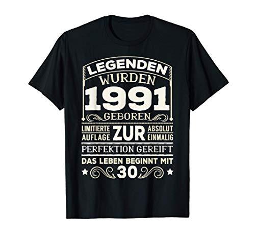 30. Geburtstag 30 Jahre Damen Herren Spruch Lustig Geschenk T-Shirt