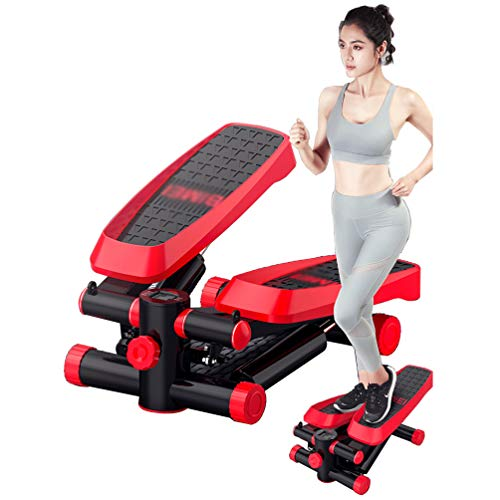 Best Deals! Braveheat Cardio Fitness Stepper, Air Stepper Exercise Climbing Cardio Foot Pedal, Sport...