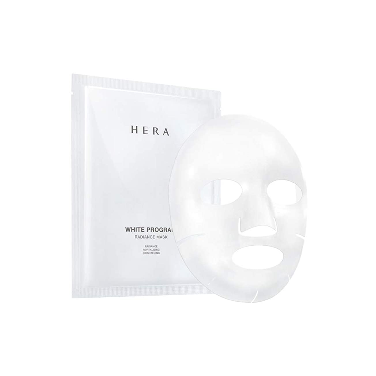 スキム剪断作者【HERA公式】ヘラ ホワイト プログラム ラディアンス マスク 6枚入り/HERA White Program Radiance Mask 6Sheets