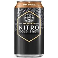 8-Pack Starbucks Nitro Cold Brew Dark Caramel 9.6 Fl oz Can