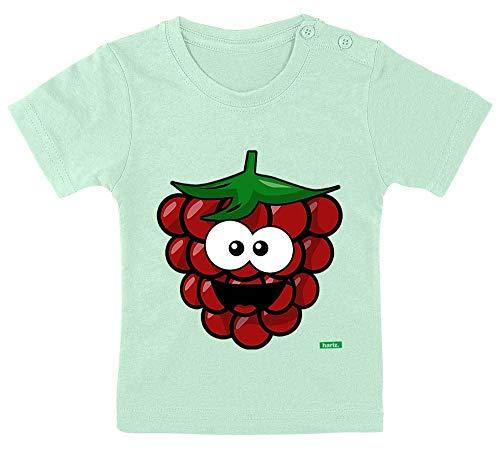 HARIZ Baby T-Shirt Himbeere Lachend Früchte Sommer Plus Geschenkkarte Zahnpasta Grün 15-24 Monate / 80-92cm