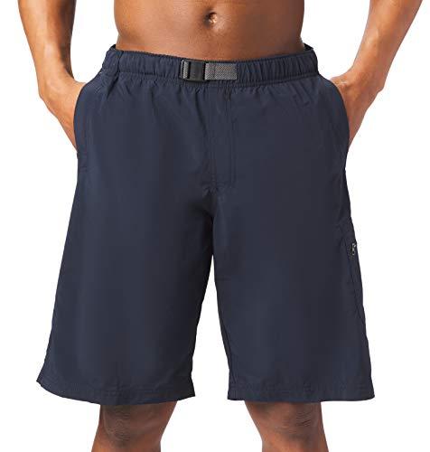Columbia Herren Men's Palmerston Peak, Waterproof, UV Sun Protection Shorts, Abgrund (Abyss), 2X x 23 cm Schrittlänge