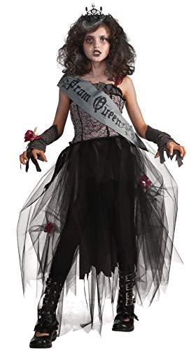 Rubies Disfraz oficial de reina del baile gtica para nia XL, multicolor