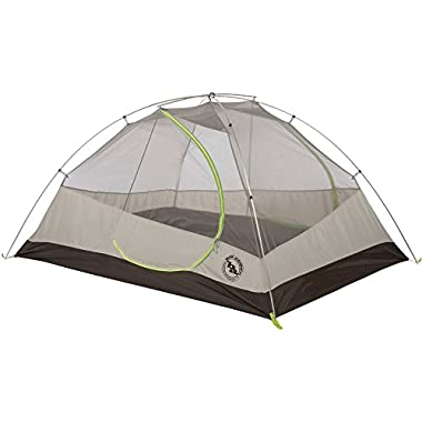 Big Agnes Blacktail 3 Package: Includes Tent and Footprint, Gray/Green, 3 person