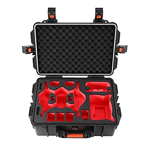 Skyreat Estuche de transporte duro profesional para DJI FPV Drone, bolsa de almacenamiento impermeable para DJI FPV Combo Fly Más y Accesorios
