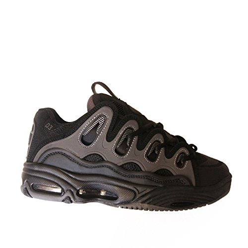 OSIRIS D3 2001 Black Grey Dave Mayhew Skate Skateboard Shoes, Gris (gris), 42 EU