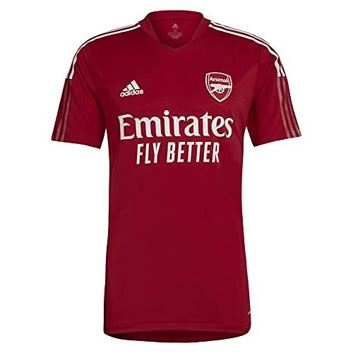 adidas AFC TR JSY T-Shirt, Active Maroon, M Mens