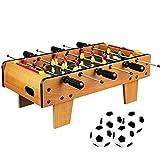 Máquina de futbolín Tipo de Mesa Niños al Aire Libre Interior Adultos Niños vs. Regalo de Juguete Educativo de Doble Juego de Mesa de fútbol
