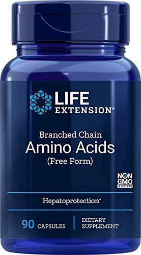 Aminoácidos de cadena ramificada, 90 Caps Veggie - Extensión de la Vida
