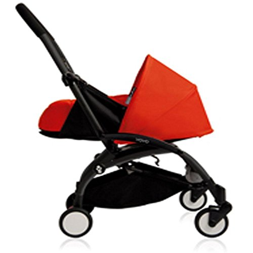 Find Bargain BabyZen - YOYO Newborn Plus Black with Red