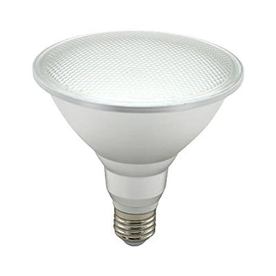 Mininono LED PAR38 Bulbs 18W, 150W Equivalent, 2700K Warm White, 1800 Lumens LED Flood Light Bulb, LED Indoor/Outdoor 120 Degree Classic Glass Spot Light Bulb, Medium Base (E26)