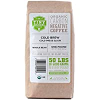 Tiny Footprint Coffee Organic Cold Brew Cold Press Elixir Whole Bean Coffee