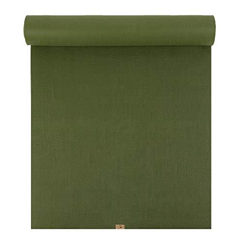 ecoYoga Phoenix - Esterilla de Yoga (6 mm), Verde