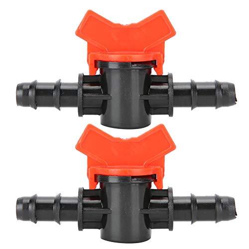 Zerodis 2 Stück Aquarium Regelventil, Fishtank Wasserflussregler Rohrrohranschluss Aquarium Luftpumpenzubehör Aquarium-Aquarium-Regelventile(10mm)