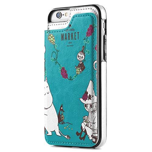 ムーミン iPhone7 ケース iPhone8 ケース iPhone SE ケース 第2世代 カード収納 手帳型 背面 レザーケース ICカード収納 軽量 スタンド機能 耐衝撃 滑り防止 高級PUレザー 多機能スマホケース 携帯カバー