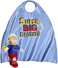 Ganz Big Brother Kit Super Big Brother Plush Doll with Super Big Brother Child Size Hero Cape
