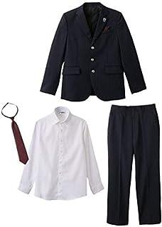 [nissen(ニッセン)] 卒業式 JFA フォーマル スーツ 3点セット 男の子 子供服 ジュニア服 男の子 キッズ セット組