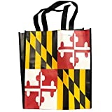 Route One Apparel | Maryland Flag Reusable Grocery Bag