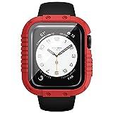 HQEUZ Funda resistente compatible con Apple Watch SE Series 6 5 4...