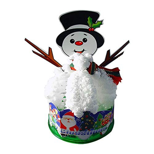 Stylishbuy Christmas DIY Snowman Paper Tree Novelty Kit Hanging Games Christmas Decorations for Kids Educational Toys