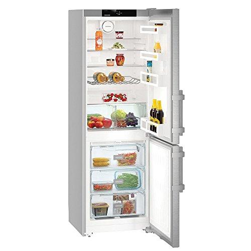 Liebherr CNef 3515 Comfort NoFrost Libera installazione 308L A++ Argento frigorifero con congelatore