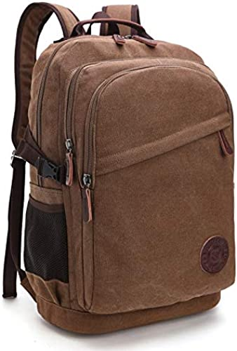 KHUGLD Trendy Designer Wash Toile School Bag Hommes Femmes Sac d'ordinateur Portable Sacs à Dos