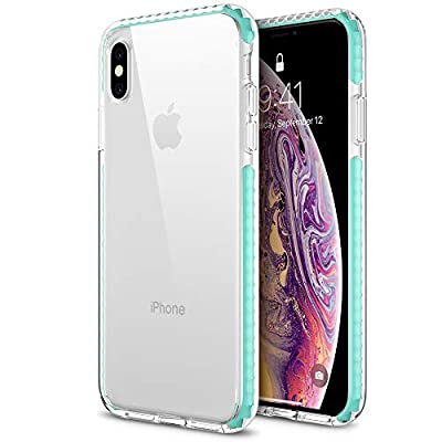 """Maxboost HyperPro Hybrid Case for Apple iPhone XS Max Case 2018 (6.5"""") with Infused GXD Gel + TPU Cushion Frame and Rigid Back Plate Phone Cover [Enhanced Drop Protection]"""