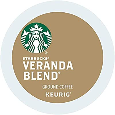 Starbucks Coffee Veranda blend single serve capsules for Keurig K-Cup pod brewers (96 Count)