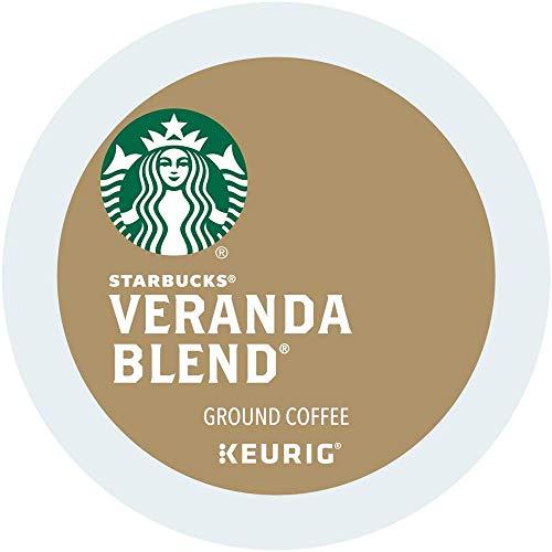 Starbucks Veranda Blend Blonde, K-Cup Portion Pack for Keurig K-Cup Brewers, 10-Count (Pack of 2)