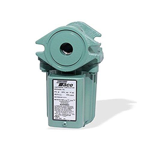 Taco 009-F5 Cast Iron Circulator Pump, 1/8 HP
