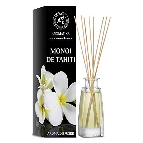 Monoi de Tahiti Aroma Difusor 100ml - Difusor de Caña - Room Fragrance - Home Fragrance - Ambientador - Monoi de Tahiti Aroma Difusor - Idea de Regalo - Tiare Aroma