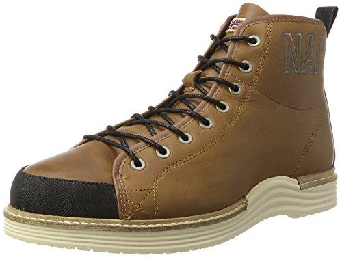 Napapijri Footwear Herren Edmund Klassische Stiefel, Braun (Cognac), 46 EU