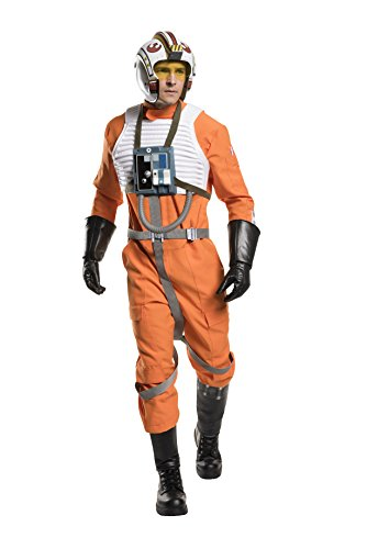 Rubie's Men's Classic Star Wars Grand Heritage X-wing Fighter Adult Sized Costumes, As Shown, Standard US