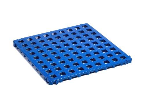 Clippy Kunststoffbodenrost blau 500x500x25mm