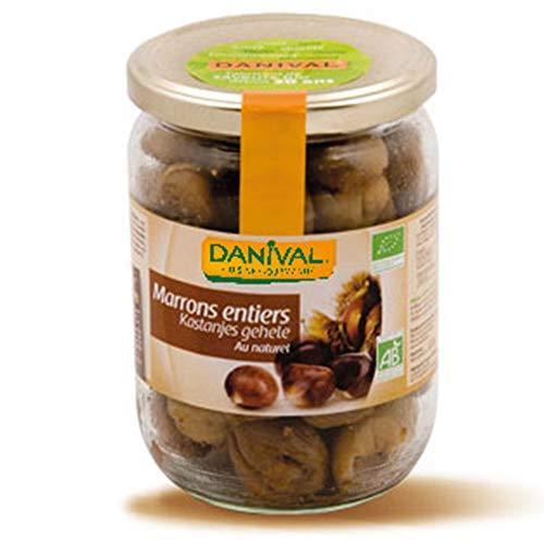 DANIVAL Marrons Entiers au naturel 320G Bio -